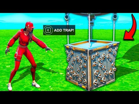 *NEW TRICK* SUPPLY DROP TRAP – Fortnite Funny Fails and WTF Moments! #703