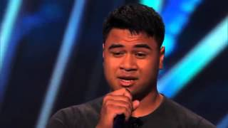 Paul Ieti Audition (America's Got Talent 2014)