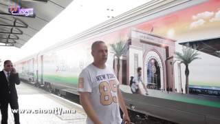 لأول مرة بالمغرب فيديو من قلب قطار المناخ   |   إيكو بالعربية