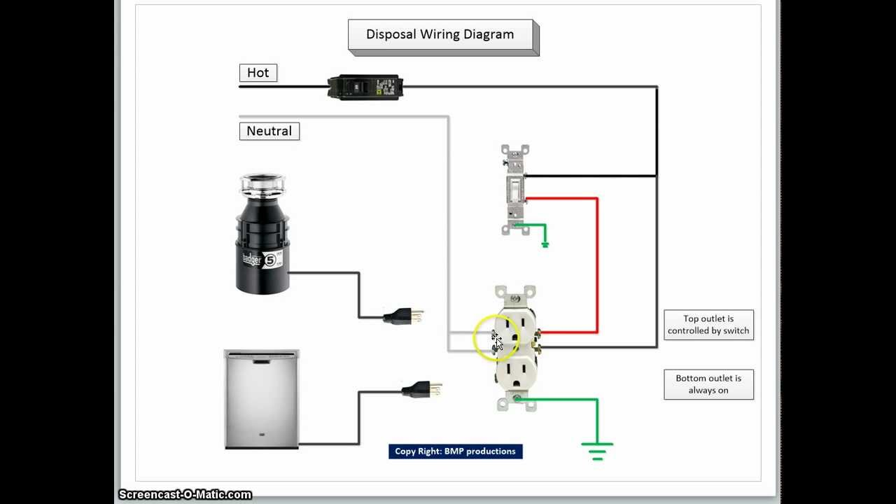 Garbage Disposal Switch Wiring