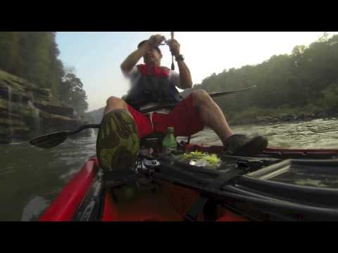 EJ Morning Bass fishing in Cuda 12