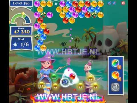 Bubble Witch Saga 2 level 186