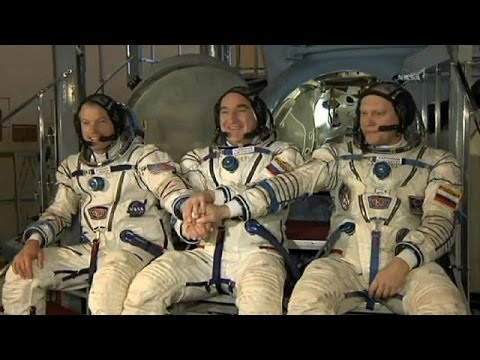 Soyuz launch: US and Russia blast off hand in hand to the ISS