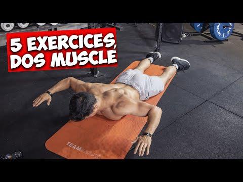 5 exercices pour un dos super musclé !