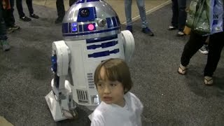 Cutest Cosplay of all time Baby Skywalker!!!
