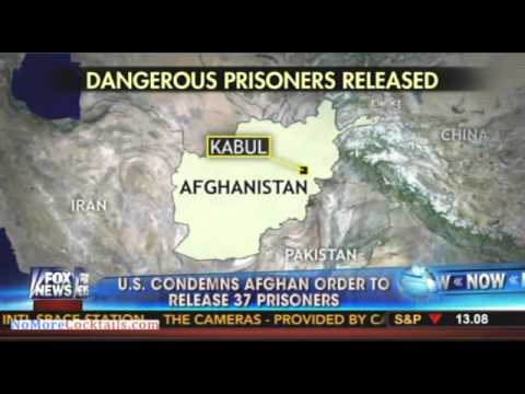 US military condemns release of 37 'dangerous' Afghan prisoners