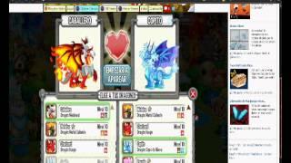 Como obtener dragon fuego fresquito y dragon legendario(combinaciones
