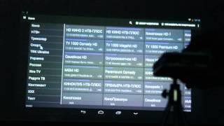 Видео обзор работы портативного проектора Atongm D9