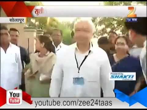 ZEE24TAAS : Solapur Sushil Kumar Shinde Reaction After Voting
