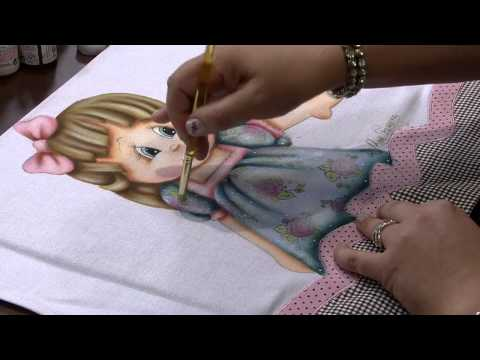 Mulher.com 12/08/2013 Rose Ferreira - Pintura em Tecido com Carimbo P 2/2