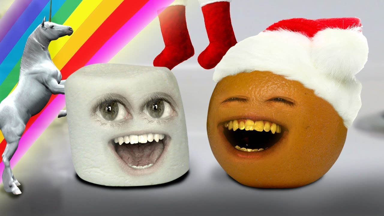 Annoying Orange Marshmallow S Christmas Sock 12 Days Of