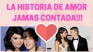 Justin Bieber y Selena Gomez la historia de un amor
