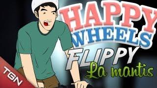 Happy Wheels: ¡Escupe Justin!