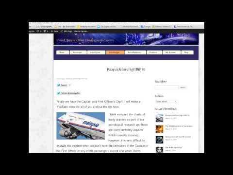 Malaysian Airline Flight MH370 Analysis by Astrologer Hassan Jaffer
