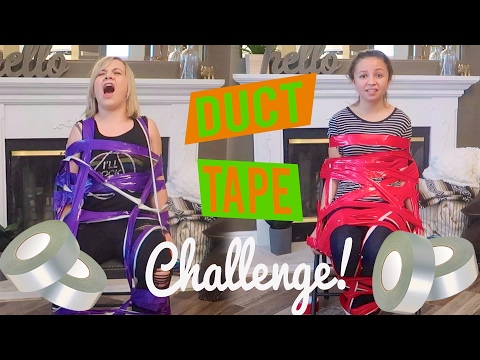 EXTREMELY PAINFUL DUCT TAPE CHALLENGE! (W/ MATTIE FAITH!)