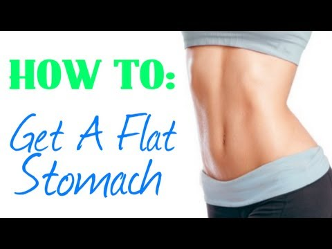 How To: Get A Flat Stomach!! + Tips & Tricks