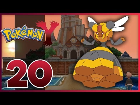 Pokemon Y Walkthrough - Part 20 - Shalour City! (Pokemon Y Gameplay)