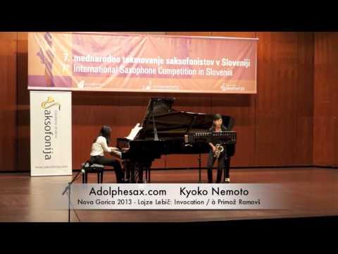 Kyoko Nemoto – Nova Gorica 2013 – Lojze Lebi?: Invocation / à Primož Ramovš