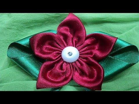 Flor de tecido   Passo a Passo - DIY