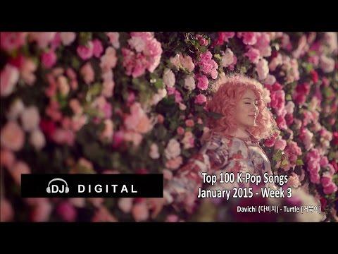 Top 100 K-Pop Songs for January 2015 Week 3