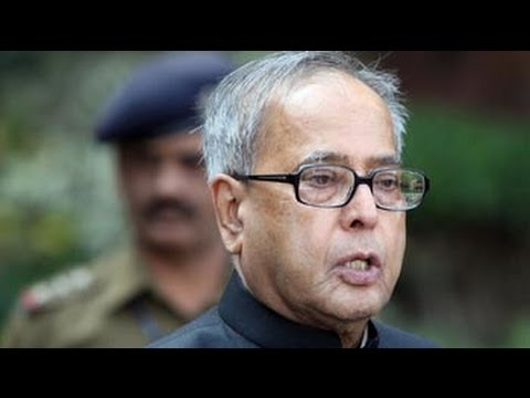 Who is Pranab Mukherjee?