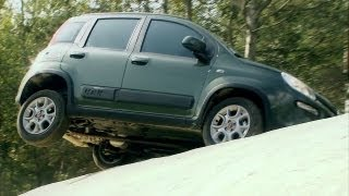Video 2013 Fiat Panda 4x4 OFFROAD TESTING [HD]