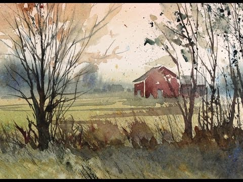 Painting a Fall Landscape in Watercolor with Susan Avis Murphy, AWS