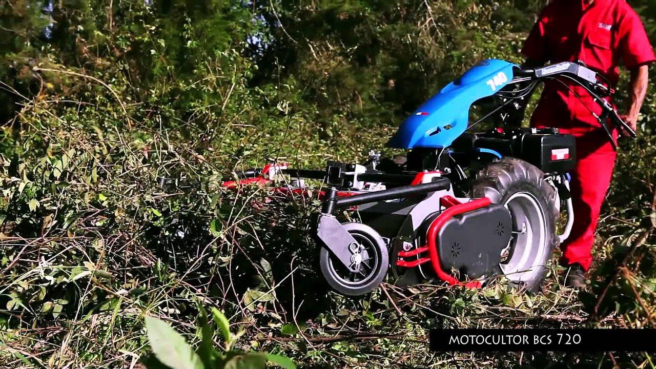 Tractocentro colombia motocultor bcs 720 youtube for Motocoltivatore bcs 720