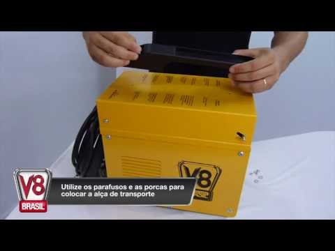 Máquina De Solda MIG 150BR V8 Brasil