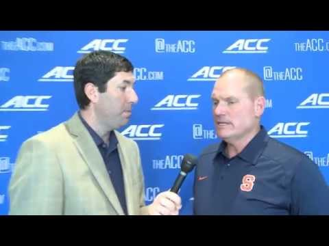 ACC Kickoff: Scott Shafer Interview - Syracuse Football