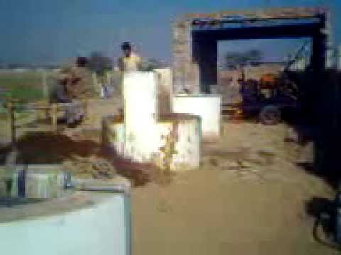 National bio gas Electric generation unit for 50 k.w dairy farm multan pakistan