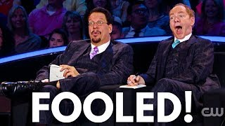 Penn & Teller Loses Their Minds With This Trick...