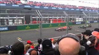 F1 2013 vs 2014 sound comparison – Melbourne