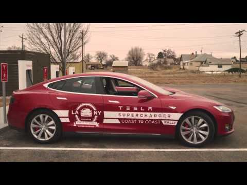 Tesla Model S - driving coast to coast
