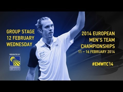 Group Stage - England vs Belgium (Match 5) - 2014 European Men's Team C'ships