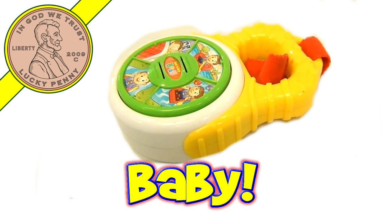 Fisher-Price See 'n Say Mini Melody Pocket Sized Stroller Baby Toy - H9226 - YouTube