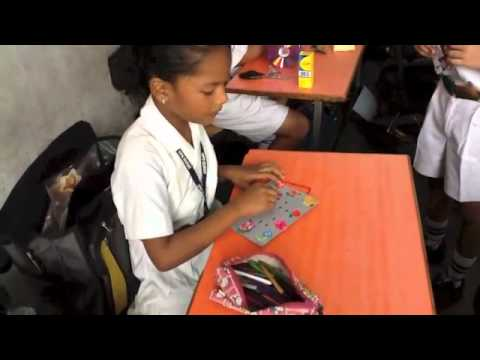best out of waste by dps surat class iii b youtube