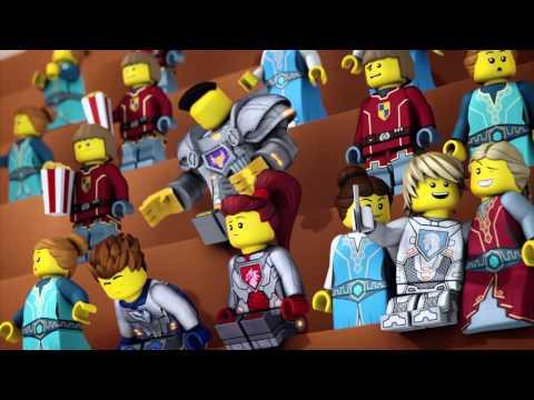 LEGO NEXO KNIGHTS - webizoda 6 - Aaronov s�boj