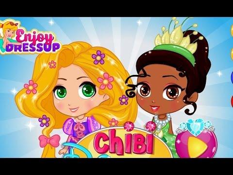 Chibi đáng yêu của các nàng công chúa Disney - Disney Princess Chibi