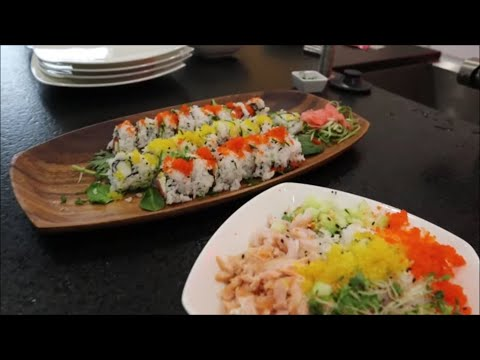 Sushi Chasers: Learning How To Make Sushi Rolls At Home