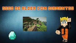 Seed De Aldea Con Diamantes Minecraft PE 0.10.2
