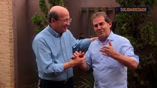Paulinho da Força visita Votuporanga e é recebido pelo prefeito João Dado