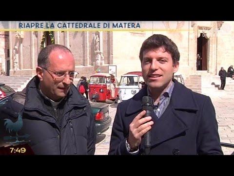 Riapre la cattedrale di Matera