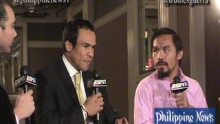 Marquez Says Pacquiao Defeated Bradley