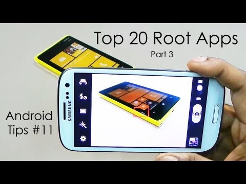 "Top 20 ""Must Have"" Root Apps for Rooted Android Devices - Part 3 - 2013 - Android Tips #11"