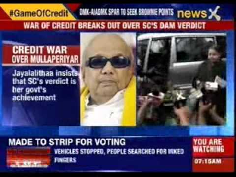 M Karunanidhi: Mullaperiyar verdict due to our effort