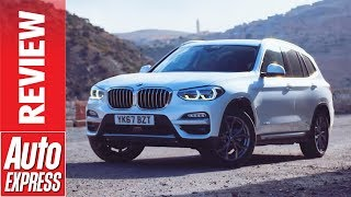 New BMW X3 review - luxury mid-size SUV hits back at Mercedes GLC and Volvo XC60. Auto Express.