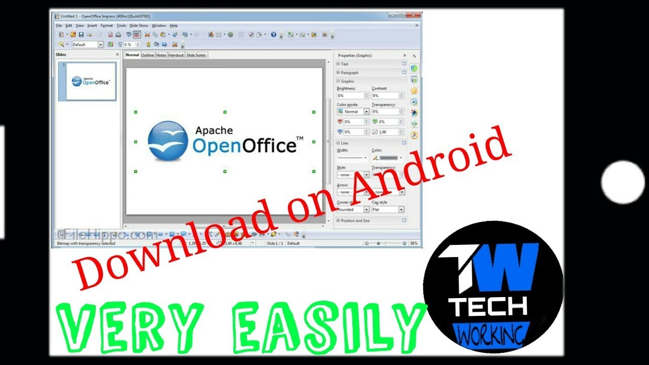download open office for android