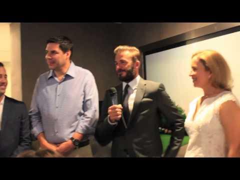 MLS Stadium Project with David Beckham & Marcelo Claure
