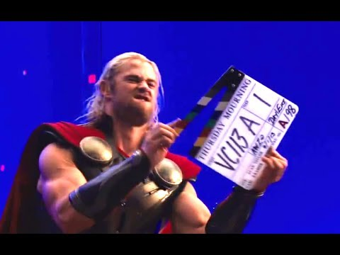Thor: The Dark World Official Gag Reel (HD) Chris Hemsworth